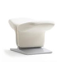 P582 Ribbon Chair Footstool