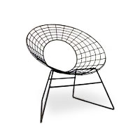 Korf wire chair