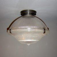 Grote Holophane Plafondlamp