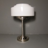Large Stepped Table Lamp
