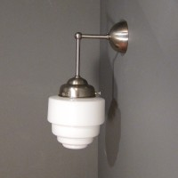 Small Stepped Wall lamp
