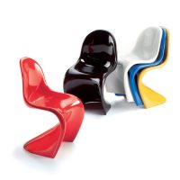 Set Van 5 Panton Chairs Miniature