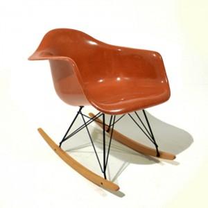 Eames rocking chair brown