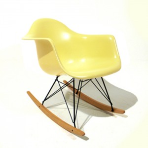 Eames rocking chair Yellow