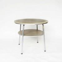 Round Grey Coffee Table, Gispen