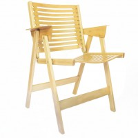 Wooden Rex Folding Chair, Kralj