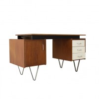 Wooden desk, Braakman