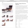 Lounge Chair met voetenbank
