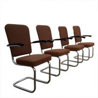 Chrome Sixties  Dining/Conference Chairs