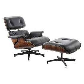 Lounge Chair Herstofferen - Charles & Ray Eames