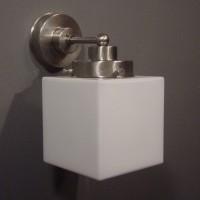 Kubus Wandlamp