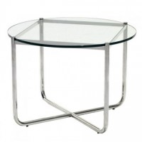 MR Low Table: clear glass