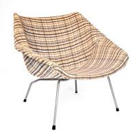 Beklede gedateerde fauteuil bebob design - Fauteuil bas ontwerp ...