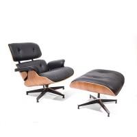 Lounge stoel voetenbank bebob design - Originele eames fauteuil ...