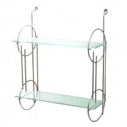 Art Deco Chrome Rack
