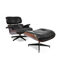 Lounge Chair plus Ottoman, Ray & Charles Eames