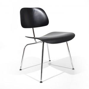 Zwarte DCM door Charles & Ray Eames