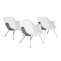 Set of Three 416 Chairs, sold per piece, Wim Rietveld, Cordemeyer
