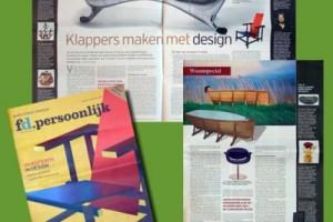 Klappers maken met design Financieel Dagblad