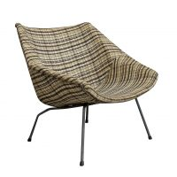 Upholstered Authentic Lounge Chair 416