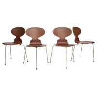 Original early set Ant Chairs, Arne Jacobsen, Fritz Hansen