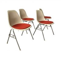 Fiberglas Stacking Side Chair