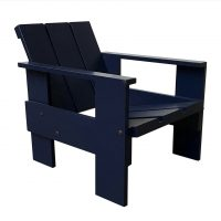 Number 41, Children Crate Chair Blue