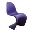 Paarse Stapelbare stoel, Verner Panton, Miller