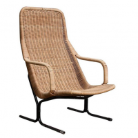 Rotan 514 Wicker Lounge Chair