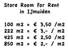 Warehouse IJmuiden for Rent