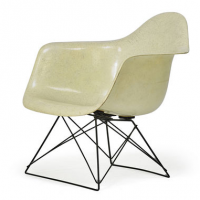 Low Rod Base Armshell, Ray & Charles Eames