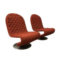 set van twee 1-2-3 Serie Easy Chairs