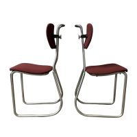 W.H. Gispen for Gispen Culemborg, Holland, Original Pre War Typing Chairs